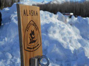 Alaska Iditarod Sign